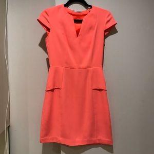 T Tahari Peplum Dress
